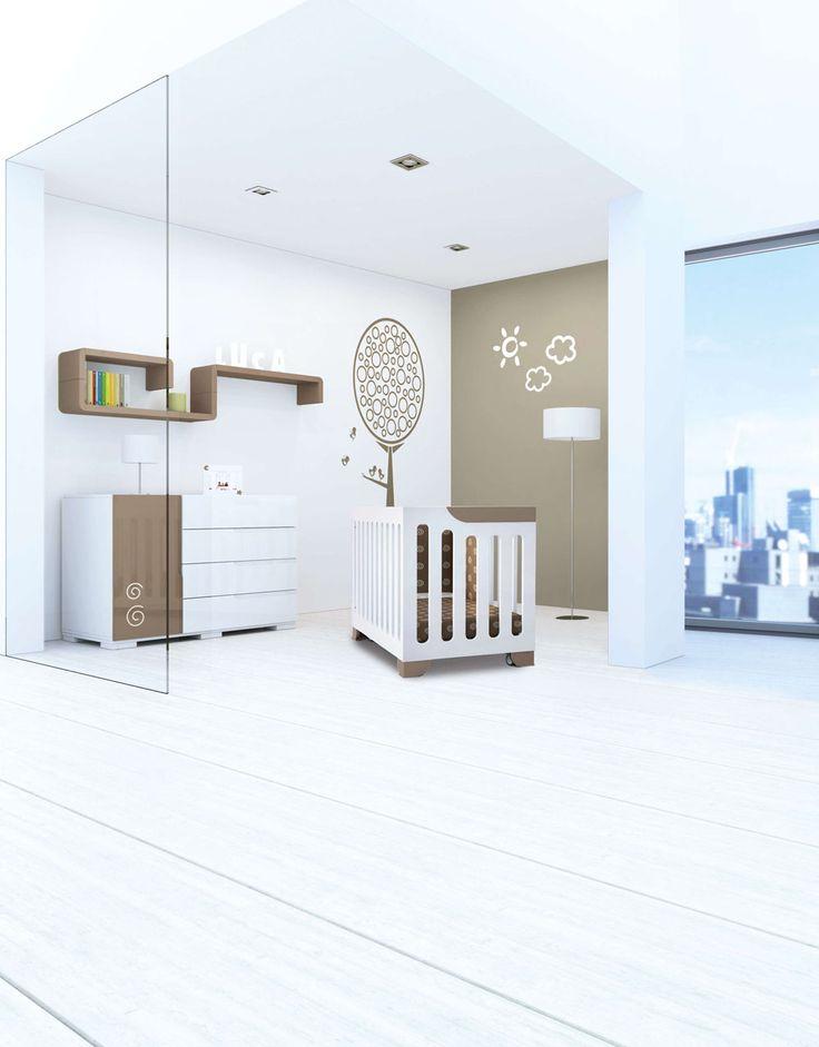 Habitaciones infantiles modernas y de dise o color - Comodas de bebe ikea ...