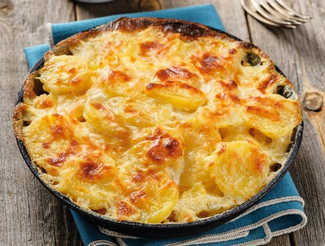 Tejszínes rakott krumpli Recept képpel - Mindmegette.hu - Receptek