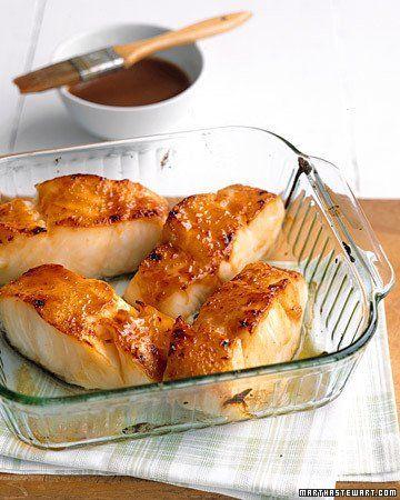 Miso-Glazed Cod Recipe by Martha Stewart | Maypurr