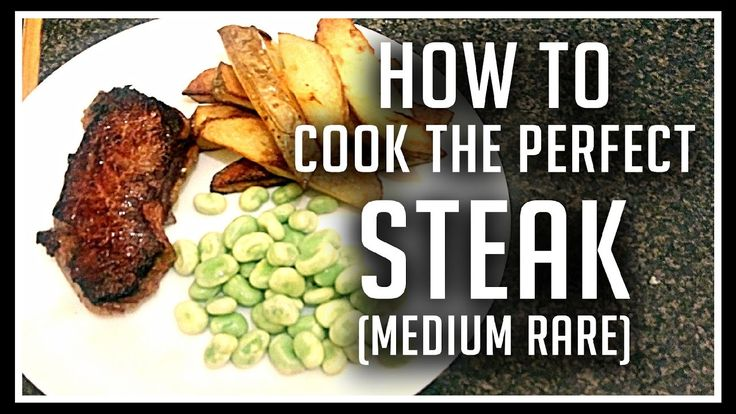 How To Cook The Perfect Steak  Medium Rare New York Strip Steak [homemade] https://www.youtube.com/watch?v=DFzpEutEZMQ