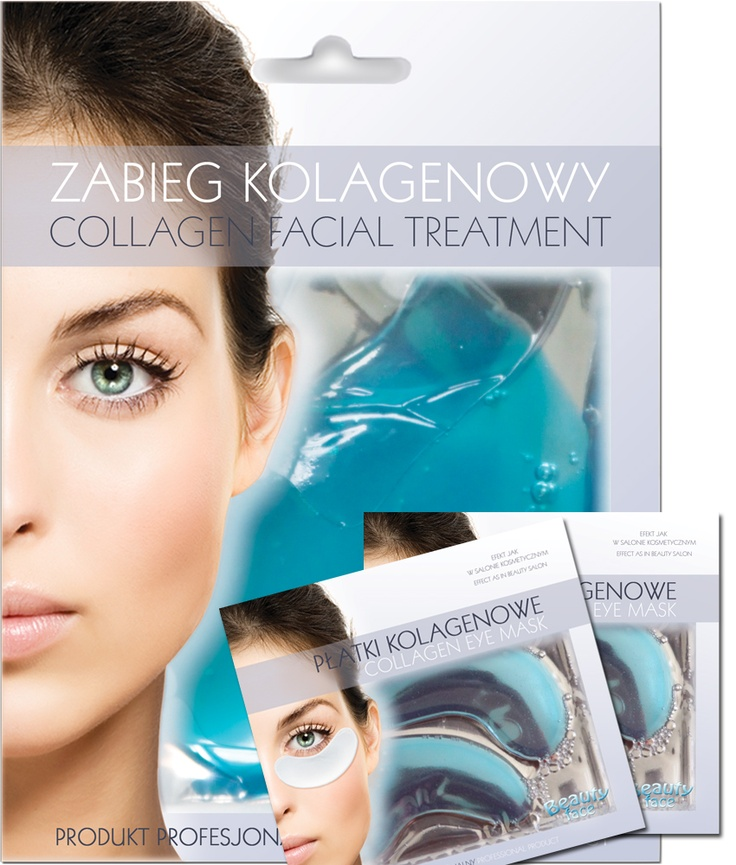 SPECIAL OFFER SET  Collagen algae mask + 2 pcs of eye collagen patch - only 19,90 PLN