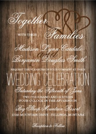 best 25+ rustic wedding invitations cheap ideas on pinterest, Wedding invitations