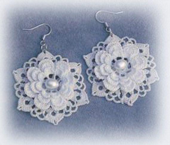 Aretes, accesorios, regalos, flores, pendientes perlas, punto de boda
