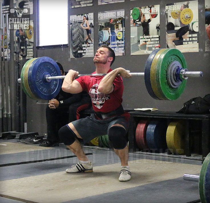 Lousy Training Right Before Weightlifting Competition by Matt Foreman - Olympic Weightlifting - Catalyst Athletics - Olympic Weightlifting