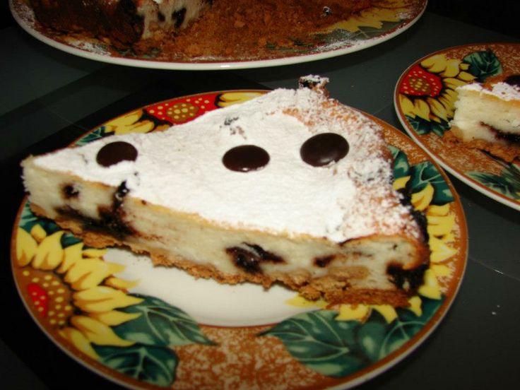 tarta cu ricotta si ciocolata