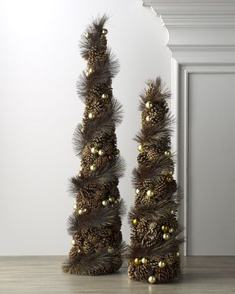 17 best images about pine cone crafts on pinterest trees for Decorating pine cones for christmas tree