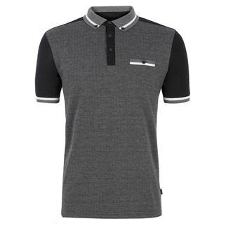 Ravelo Herringbone Polo Shirt | Men's Polo Shirts | Merc Clothing