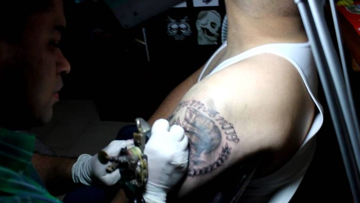 JOHN SIERRA TATTOOER. Trojan Tattoo parte II