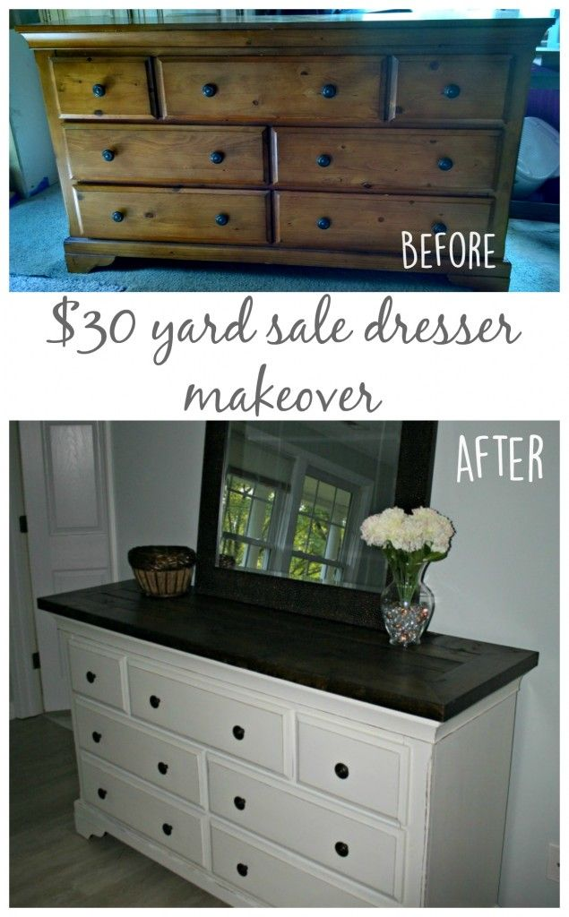cheap dresser to beautiful piece of furniture and easy to do easy dresser makeover - Cheap Dressers For Sale
