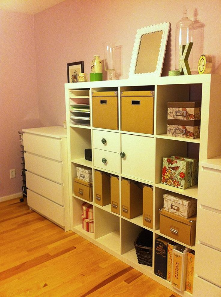 Home Office & Craft Room Combination #Ikea