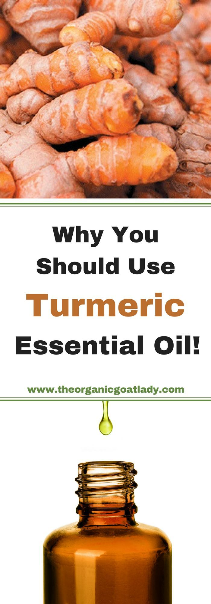 ∆ Turmeric Essential Oil... Why You Should Use Turmeric Essential Oil!