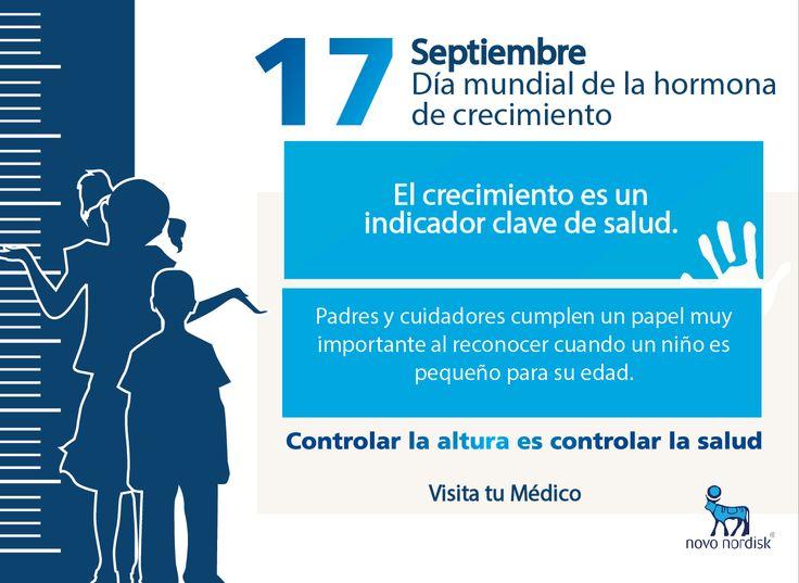 El crecimiento es un indicador importante de la salud general y el bienestar de los niños #DíaHormonaCrecimiento