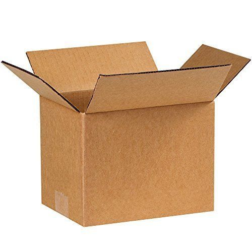 "25 SHIPPING BOXES Cardboard Box Mailing Storage Small Packing Boxes Kraft 8x6x6"" #PartnersBrand"