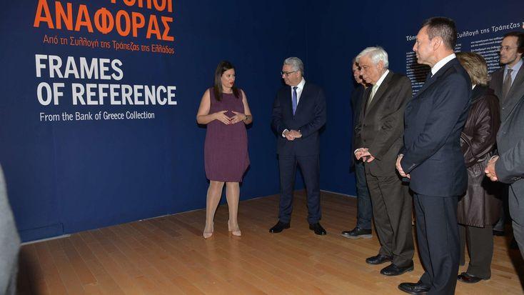 Ενα βίντεο - περιπλάνηση στις 16 αίθουσες του Μουσείου Μπενάκη που φιλοξενούν 160 έργα από τη Συλλογής της Τράπεζας της Ελλάδος.