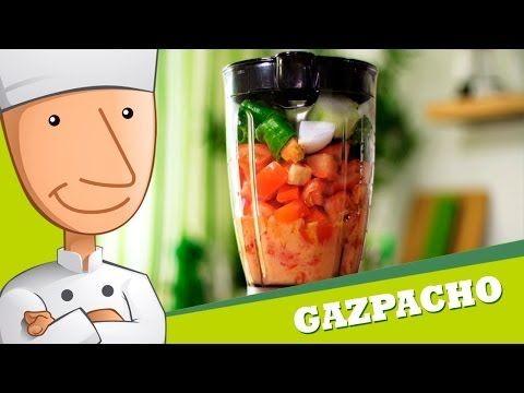 Cómo Hacer Gazpacho Sin Pan