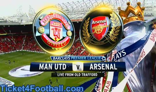 Currently the toppers of Premier League Arsenal will visit Old Trafford to play with the last season's champions Manchester United on November 10, 2013. Ticket4Football.com is the best place to get the tickets of Manchester United Vs Arsenal match.