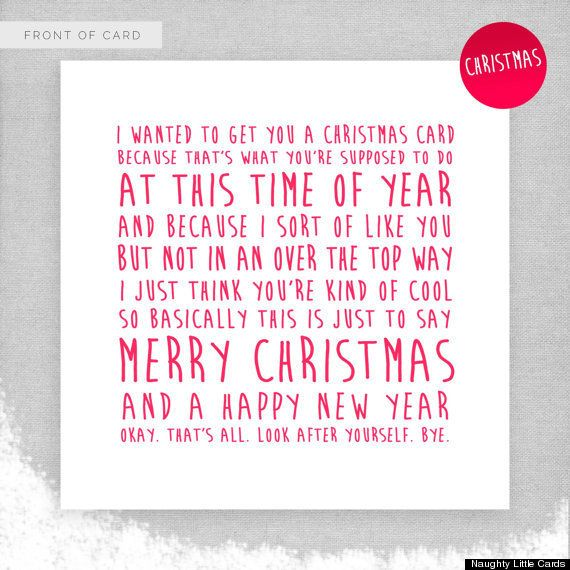 22 Clever Christmas Cards That Are Actually Funny for people who can take a joke. NSFW