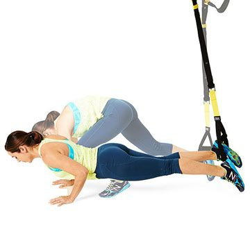 Think you've conquered burpees? Try the Single-Leg Burpee using a TRX strap. Wowza!