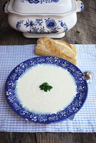 Les gourmandises d'Isa: CRÈME AU CHOU-RAVE