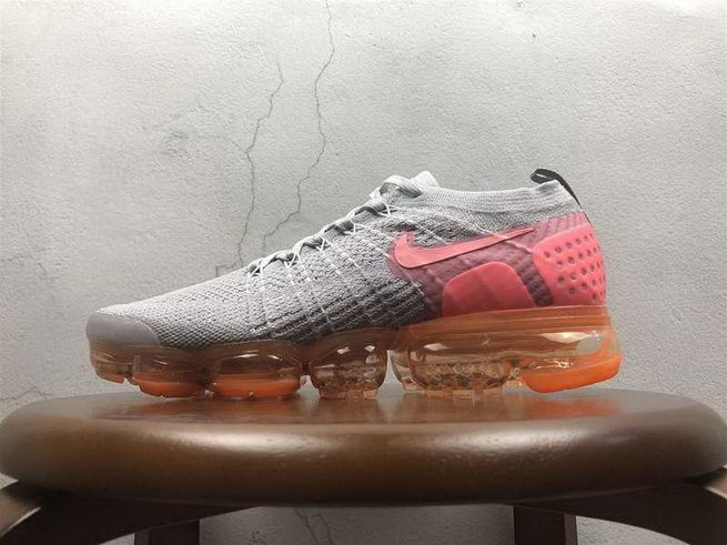 sports shoes 8a3d0 24b77 Nike Air VaporMax 2 0 Flyknit Grey Pink 852-780002