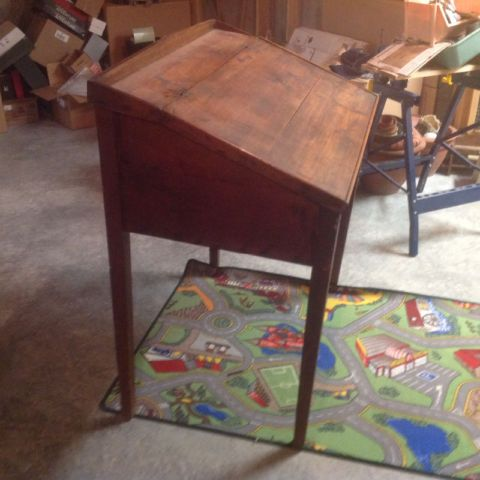Antique flip top desk circa 1800s and miscellaneous items. | desks | Ottawa  | Kijiji | Decor | Antiques, Repurposed, Desk - Antique Flip Top Desk Circa 1800s And Miscellaneous Items. Desks