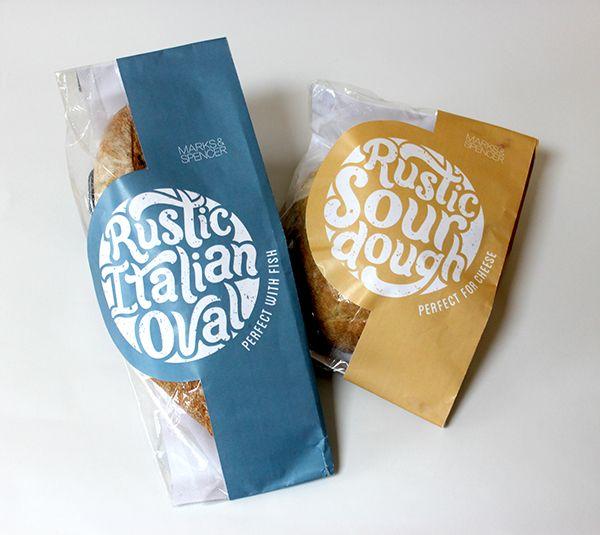 Artisan Bread Packaging on Behance
