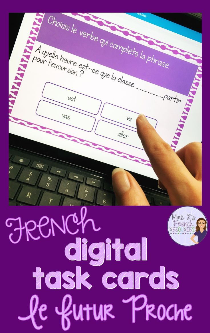 Do Your Students Need Practice Conjugating The Verb Aller These Cards Are Perfect For Teaching French French Teaching Resources French Speaking Activities [ 1168 x 736 Pixel ]
