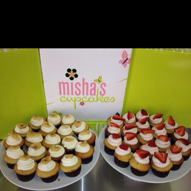 Misha's cupcakes are like WHOA
