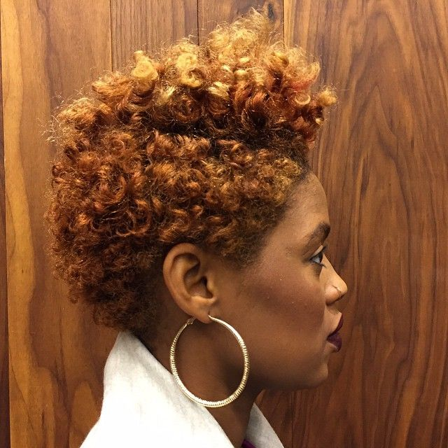 How Color Tapered Natural Hair