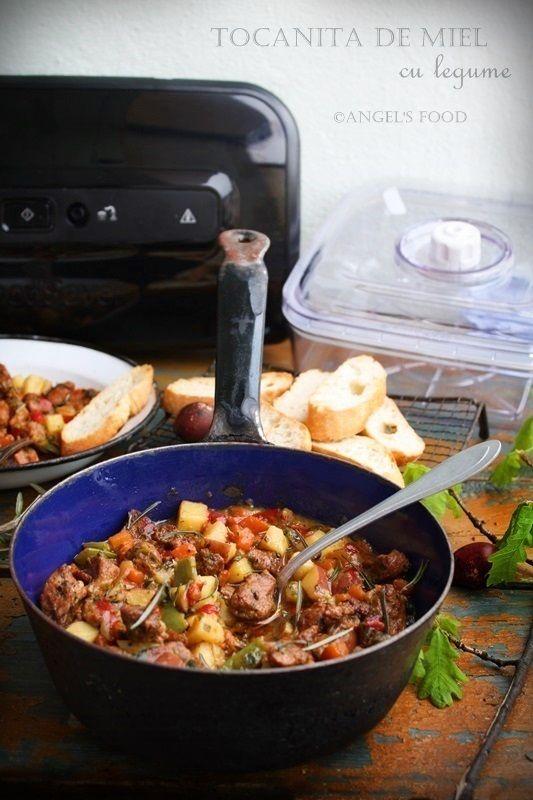 Angel's food: Tocanita de miel cu legume pregatita cu aparatul d...