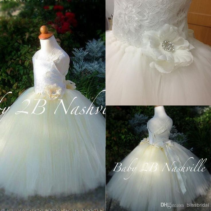 Wholesale Flower Girls' Dresses - Buy Real Image Lovely Straps Ball Gown Organza Cheap Pageant Dress Flower Girl Dresses Princess Pageant Dresses For Girls With Handmade Flower, $79.0 | DHgate