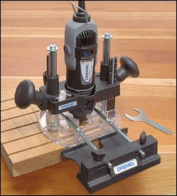 Dremel MultiPro® Plunge Router Attachment - Woodworking