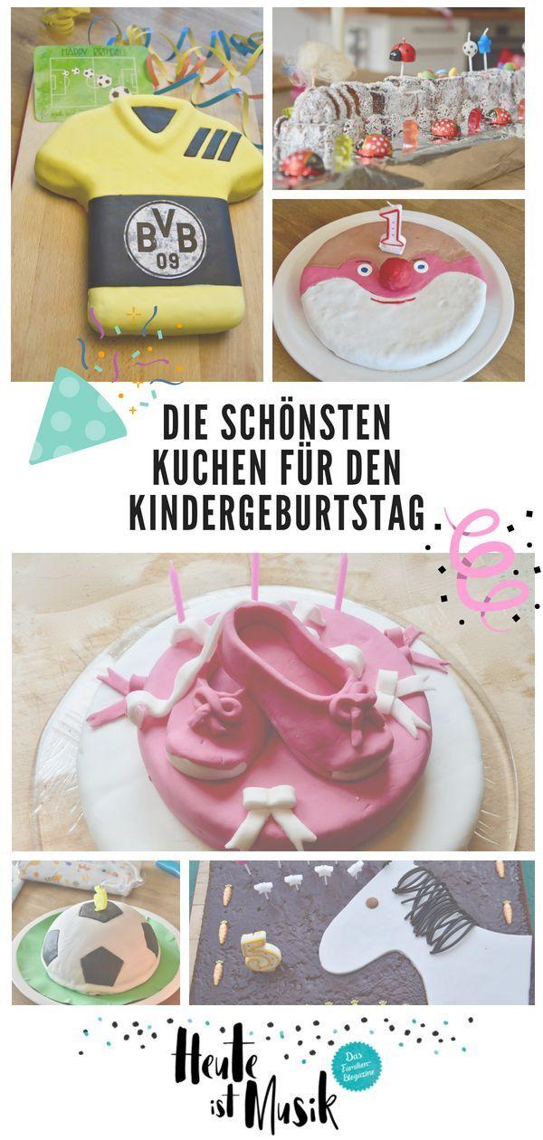 Die Schonsten Kuchen Fur Den Kindergeburtstag Kindergeburtstag