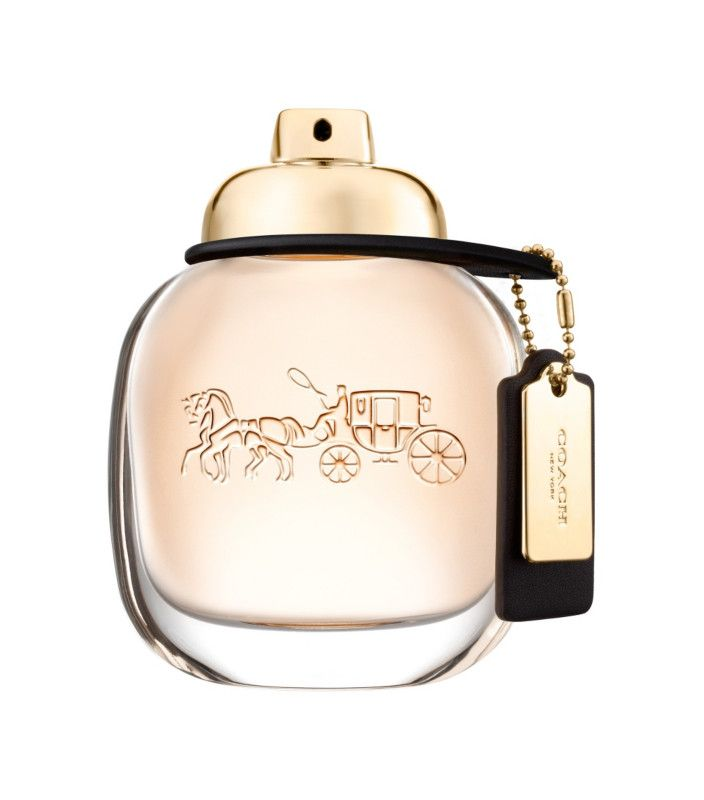 COACH Eau de Parfum by Coach is inspired by the spontaneous energy and downtown style of New York City. A fragrance full of contrasts, opening with bright, sparkling raspberry, giving way to creamy Turkish roses, before drying down to a sensual suede musk base.