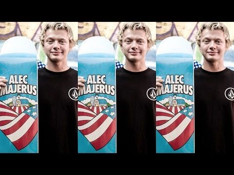 Alec Majerus is now PRO for Flip Skateboards! - http://DAILYSKATETUBE.COM/alec-majerus-is-now-pro-for-flip-skateboards/ - http://www.youtube.com/watch?v=rjoymRZEOEo&feature=youtube_gdata  Minnesota skate maniac, Alec Majerus, is pro for Flip Skateboards! Alec celebrates the unveiling of his new Heartland Flip Deck with teammates Louie Lopez, D... - alec, flip, majerus, skateboards