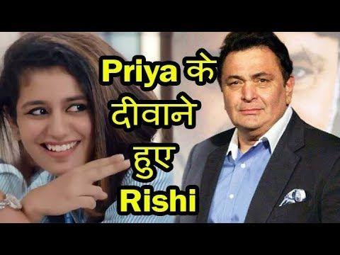 What Rishi Kapoor tweeted about Priya Prakash Varrier the Viral Girl?