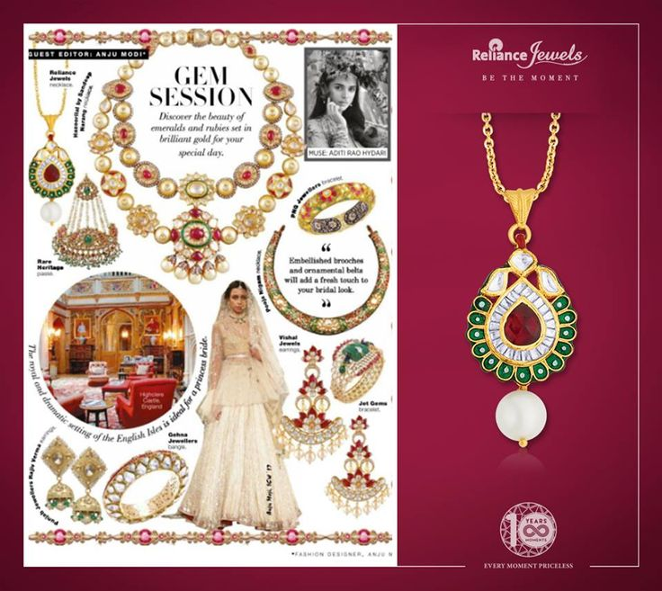 Our gorgeous necklace showcased in Brides Today February Edition 2018.