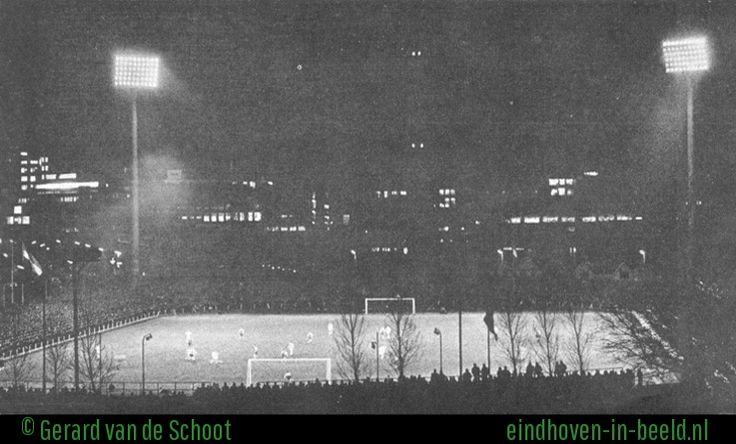 Ingebruikneming Lichtinstallatie PSV 09-04-1958