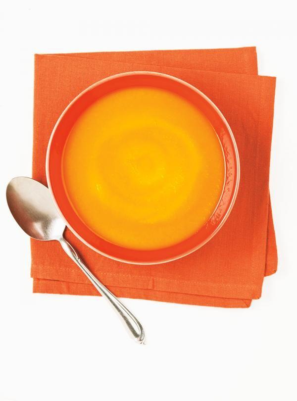 Recette de Ricardo de potage aux carottes