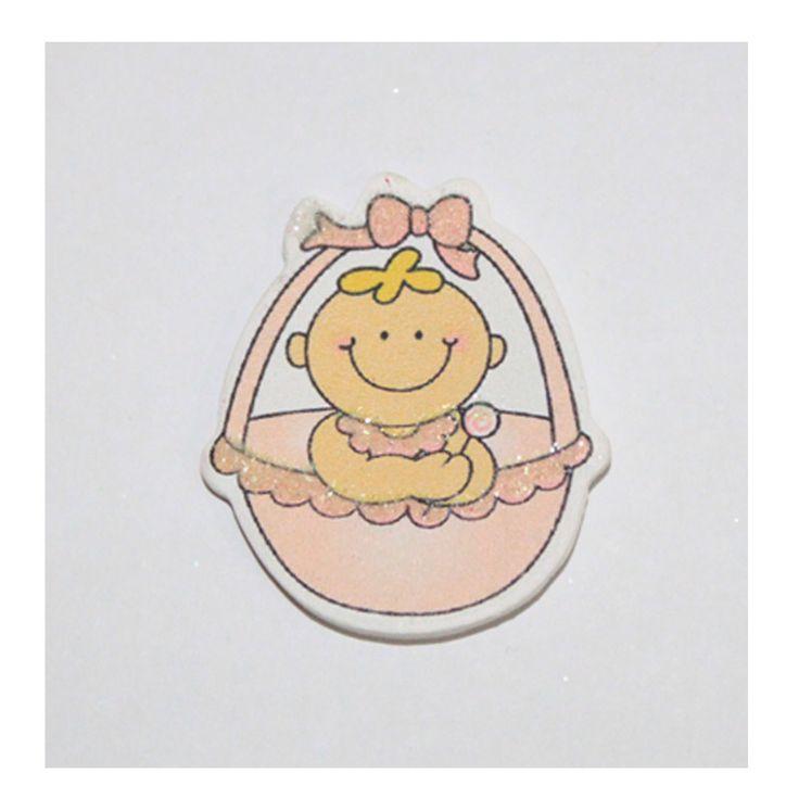Baby Shower Material , Bebek şekeri ahşap apliklerby www.hepsibitad.com
