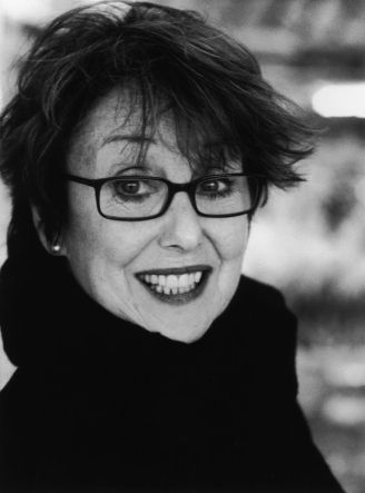 Una Stubbs...  Whenever I see her on Sherlock, I hope that when I am her age, I can wear eye shadow that way.