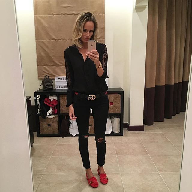 Best 25+ Black Gucci Belt Ideas On Pinterest | Grey Womenu0026#39;s Pumps Outfits For Summer And Pumps