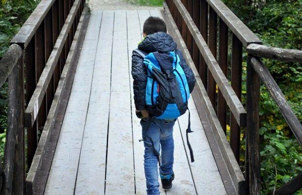 Trekking con i bambini alle gole dell'Infernaccio