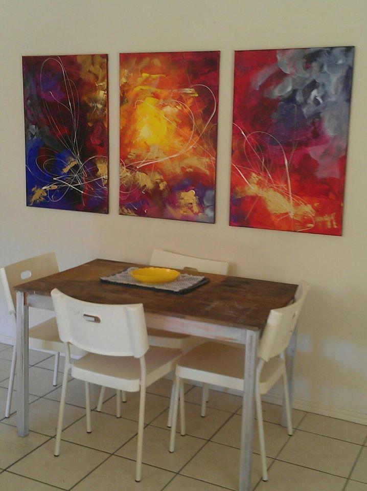 Art Of Sej- custom art and commissions by Australian artist/designer Sej. #abstractart #designerdecor #renovations