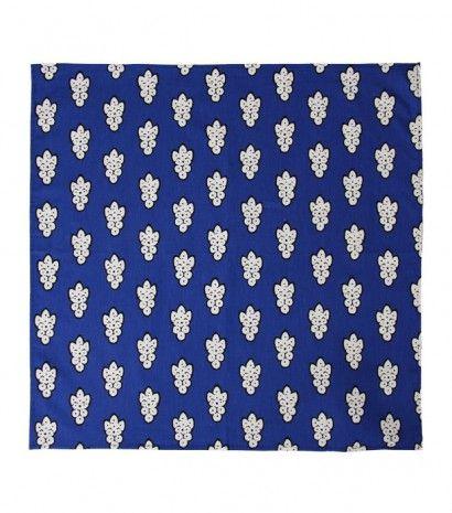"""""""La Grosse Mouche"""" bleue 60x60 cm • Souleiado"""