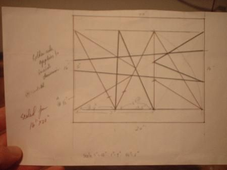 Art Composition the easy way - golden rectangle grid