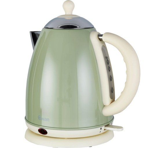 Buy Swan Jug Kettle - Green at Argos.co.uk - Your Online Shop for Kettles, Kitchen electricals, Home and garden.