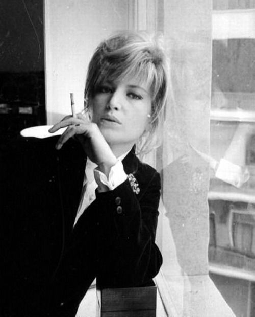 Monica Vitti photographed by Larry Ellis 1965.