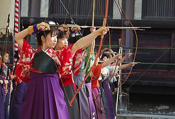 Kyudo Uniform | ... information in JAPAN » Blog Archive » Kyudo Archery Competition