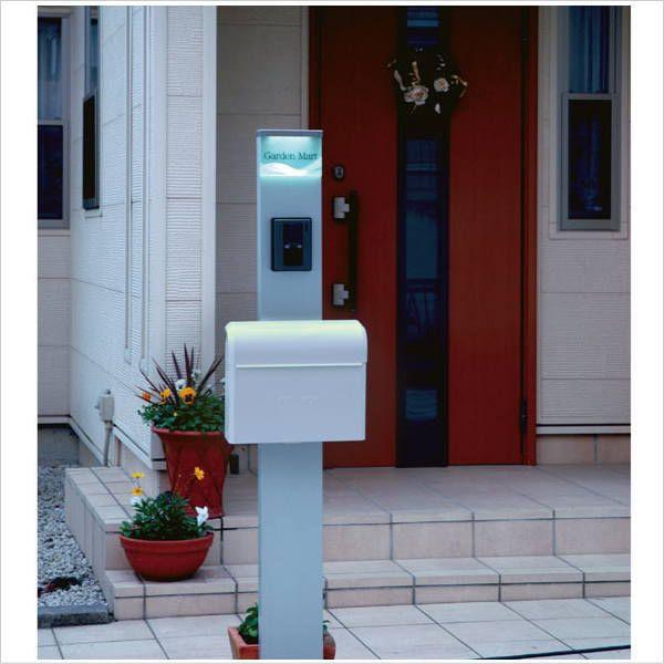 シンプルな 機能門柱 スタイリー ライクポストセット